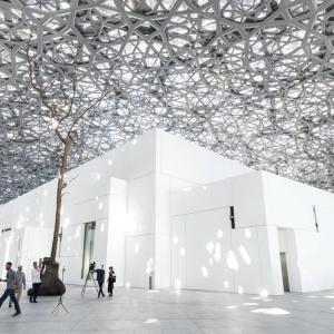 Abu Dhabi, The Louvre Museum,