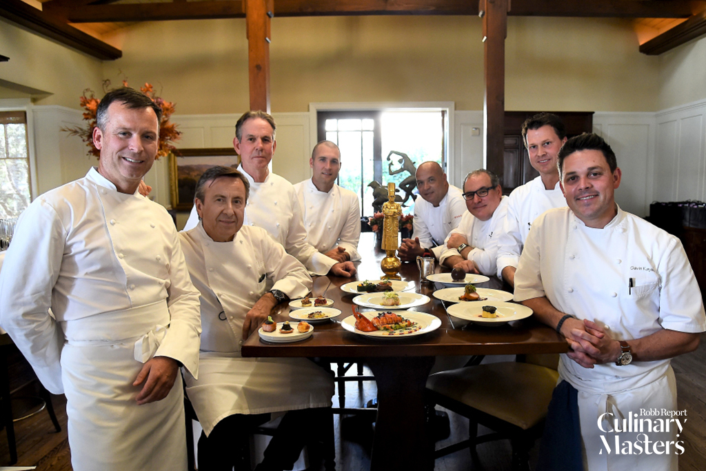 Chef Thomas Keller, Chef Williiam Bradley, Chef Daniel Boulud, Chef Jerome Bocuse