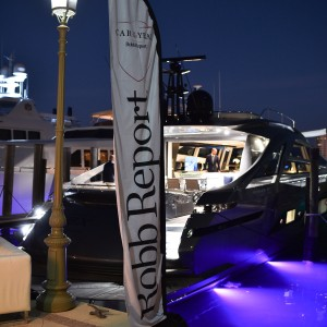 Robb Report Car of the Year Boca Raton, Benetti Yacht
