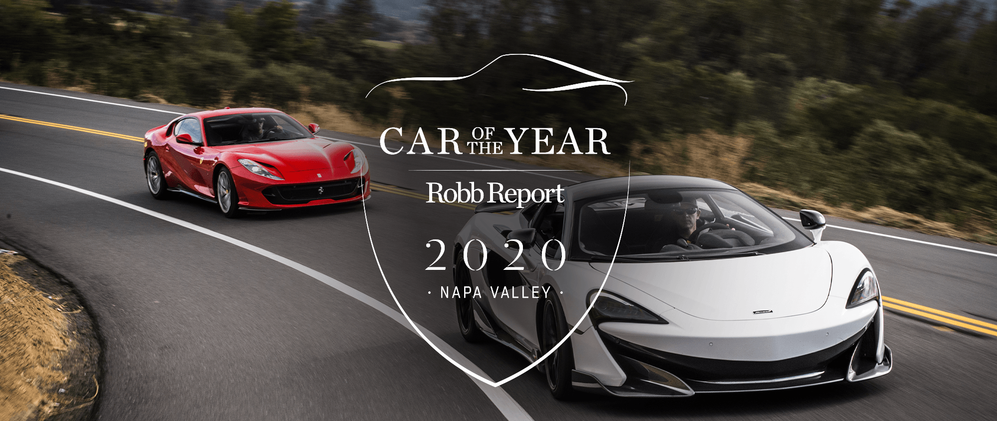Robb Report Car of the Year Napa Valley