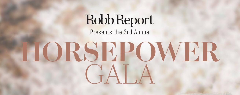 Robb Report Horsepower Gala benefiting EQUUS Foundation